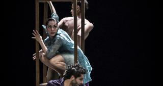 """Esther""- Jairo Cruz, Carolina Ureta, Diego Vázquez / Photo: Carlos Quezada"
